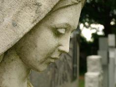 Virgin Mary - St. Andrews Ukraine Cemetery