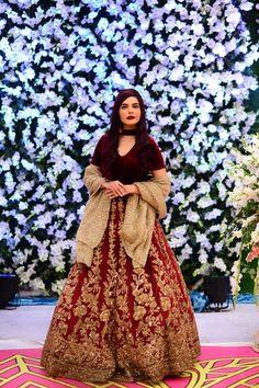 Nida Yasir Morning Show - Noman Habib and his Wife Asma Wedding Event Beautiful Pakistani Dresses, Pakistani Dress Design, Pakistani Outfits, Nida Yasir, Shadi Dresses, Wedding Events, Gown Wedding, Moroccan Caftan, Indian Lehenga
