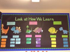 Our School : Our Nursery : Characteristics of Learning Growth Mindset Display, Growth Mindset Classroom, School Displays, Classroom Displays, Characteristics Of Learning Display, Eyfs Areas Of Learning, Autumn Eyfs Activities, Nursery Display Boards, British Values