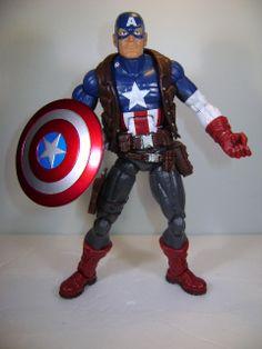 "Marvel Legends 2013 Ultimate Captain America Action Figure 6"" Marvel Universe"
