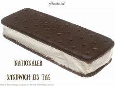 Heute ist Nationaler SandwichEis-Tag #Heute #Tag #Welttag #Today #Day #SpecialDay #Worldday