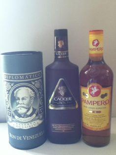 T here of our Venezuelan Rums/ Rones de Venezuela