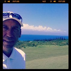Scott H. from the corporate office was in Hawaii recently. He got the chance to visit and play Kapalua. He stopped for a #selfie during his round!