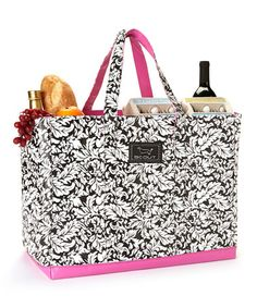 Take a look at this Black French Twist 15'' Tote by Scout by Bungalow on #zulily today!