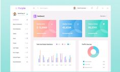 Free React Admin Dashboard - Doctor Pixel Element Table, Ui Elements, Create Yourself, Goodies, Chart, Purple, Projects, Free, Sweet Like Candy