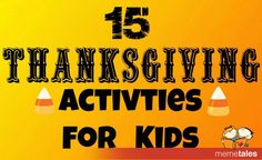 Thanksgiving for Kids -- features our Tree of Thanks :)