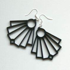 Viuhka korvakorut, Pilke Design Drop Earrings, Design, Accessories, Jewelry, Jewlery, Jewerly, Schmuck, Drop Earring