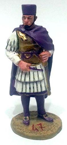 "Massenzio al Ponte Milvio, 312 d.C, numero 47 di ""Roma e i suoi nemici"" (2010 Vadis) #Miniatures #Figures #AncientRome #OspreyPublishing"