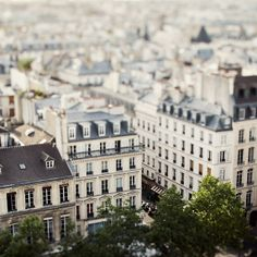 Paris rooftops...not many cities can make their rooftops look good...I guess Paris is just one of a kind ;)