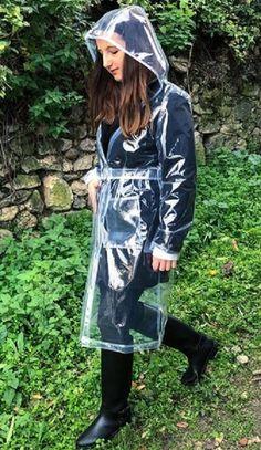 Clear Raincoat, Vinyl Raincoat, Pvc Raincoat, Plastic Raincoat, Plastic Pants, Rain Bonnet, Plastic Mac, Hooded Cloak, Rain Wear