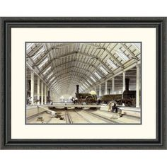 Global Gallery 'Engine House, Swindon' by John C. Bourne Framed Painting Print Size: