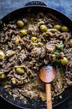 Cuban Style Steak and Avocado Rice with Pineapple Chimichurri | halfbakedharvest.com @hbharvest