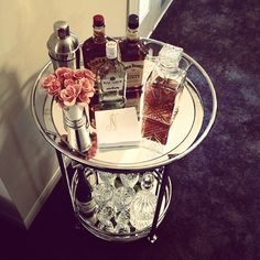 Our Manhattan Bar Cart is a great choice for awards show entertaining.