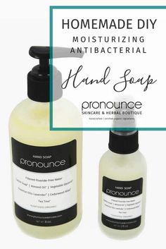 DIY Antibacterial Soap - Pronounce Skincare & Herbal Boutique