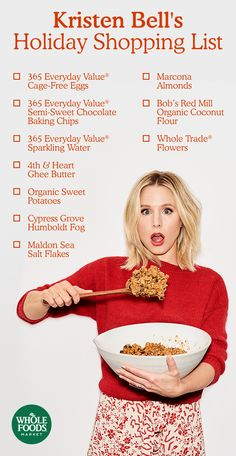 What's showing up on Kristen Bell's holiday table this year? Discover her top 10 holiday entertaining essentials, full of sustainable, inventive products that make her holiday feast a standout.
