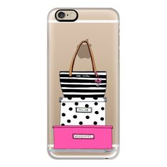 iPhone 6 Plus/6/5/5s/5c Case - Kate spade boxes fashion accessories... ($40) ❤ liked on Polyvore featuring accessories, tech accessories, iphone case, apple iphone cases, slim iphone case and iphone cover case