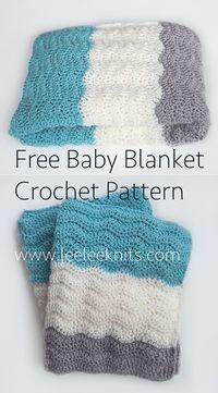 Chevron Baby Blanket By Leelee Knits - Free Crochet Pattern - (leeleeknits)
