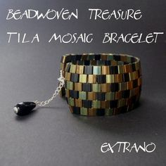 Beadwoven Treasure-TILA MOSAIC Bracelet