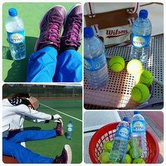 blog『大人の硬水HEPAR(エパー)』by.カーサーさん テニス時の水分&ミネラル補給にも! #エパー #hepar