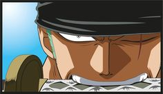Image result for zoro angry face
