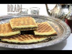 Bradj galette aux dattes / algerian cake stuffed with dates / براج بالتمر - YouTube