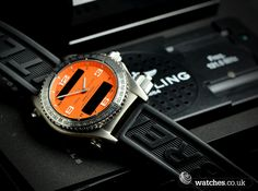 Breitling Emergency Watch - E76321 - We buy and sell Breitling watches. Contact us - www.watches.co.uk
