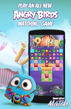 Play the new Angry Birds Game for free! Match the toys, stars and other things to collect everything those cute baby birds from the Angry Birds Movie ask for!