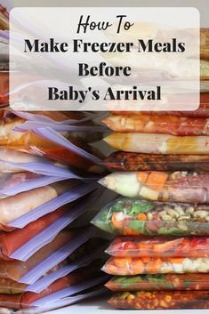 Preparing for baby: tips for making freezer meals before the baby arrives. It's a simple way to prepare your home before the baby arrives. Before Baby, After Baby, Thing 1, Preparing For Baby, Foods To Avoid, Baby Arrival, Pregnant Mom, Meal Prep, Food Prep