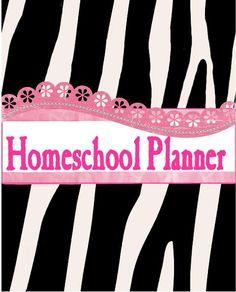 Free Printable Homeschool Planners