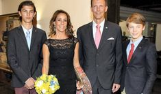 Prince Joachim and Princess Marie attended the concert of DR Pigekoret in Rio