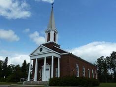 Alma (église Ste-Marie), Québec, Canada (48.580623, -71.629845) Canada, Marie