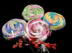Tissue Paper Lollipops