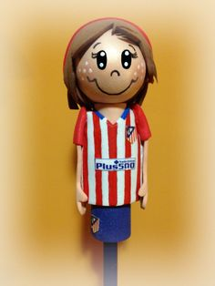 Lapiz fofucha Atlético de Madrid