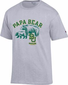 Papa Bear Baylor T-shirt // #SicEm! So perfect for Father's Day!