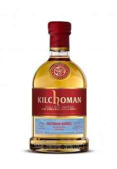 KILCHOMAN 10 years old 2007 Bourbon Birthday Whiskey.fr Of Whisky, Bourbon Barrel, 10 Years, Whiskey Bottle, Wine, Drinks, Birthday, Fire Pits, Alcohol