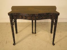 25095E: BAKER Stately Homes Chinoiserie Decorated Flip Top Table by StenellaAntiques on Etsy