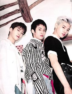 Jaehyun, Mark, Taeyong