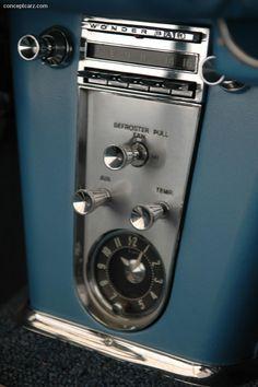 1961 Chevrolet Corvette Radio 1961 Corvette, Classic Corvette, Chevrolet Corvette, Vintage Cars, Antique Cars, Old American Cars, Car Furniture, 1960s Cars, Car Camper