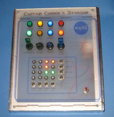 Make your own spaceship control panel