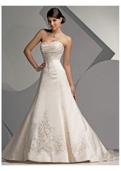 belles splendides mode des robes de mariée bustier 2012
