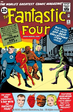 Fantastic Four 011 (1963) (digital) The First Appearance Of Impossible Man