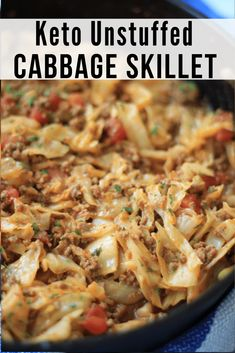 - A take-off of my very popular Keto Unstuffed Cabbage Soup, this one-skillet version of keto unstuffed cabbage skillet is quick, easy, and satisfying. Low Carb Keto, Low Carb Recipes, Diet Recipes, Cooking Recipes, Healthy Recipes, Radish Recipes, Protein Recipes, Healthy Breakfasts, Protein Foods