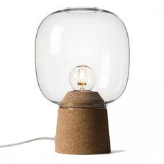 Lampada Da Tavolo Picia Trasparente by Enrico Zanolla