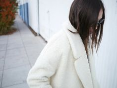 This white River Island coat, tho. #fashion #inspiration #stopitrightnow