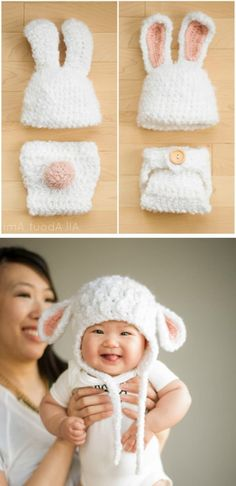 """[ """"Ethically you deserve to be like this ,you know why because you are a child mole stor"""", """"Crochet Baby Lamb Hat and other patterns"""", """"This has to be the cutest baby I Crochet Baby Clothes, Crochet Baby Hats, Crochet For Kids, Crochet For Beginners, Knitted Baby, Baby Kostüm, Baby Lamb, Crochet Crafts, Crochet Projects"""