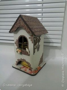 Поделка изделие Моделирование конструирование Чайный домик Бумага Картон фото 1