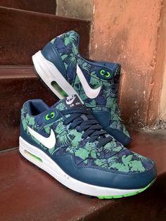 Nike Air Max 1 Blue Floral - JAPC