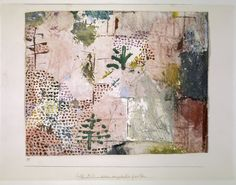 Paul Klee (1879-1940), Neu angelegter Garten (Newly Landscaped Garden), 1937 (27). Oil colour on paper on cardboard.