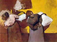 Edgar Degas Laundress Carrying Linen - The Largest Art reproductions Center In Our website. Low Wholesale Prices Great Pricing Quality Hand paintings for saleEdgar Degas Edgar Degas, Mary Cassatt, Pierre Auguste Renoir, Arctic Monkeys, Degas Paintings, Degas Drawings, Portrait Paintings, Portraits, Laundry Art