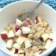 Hot & Healthy Quinoa Breakfast Bowl Recipe - ZipList